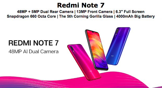 redmi note 7 singapore price